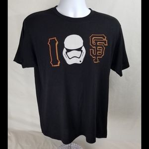 San Francisco Giants Stormtrooper Shirt Mens Sz L